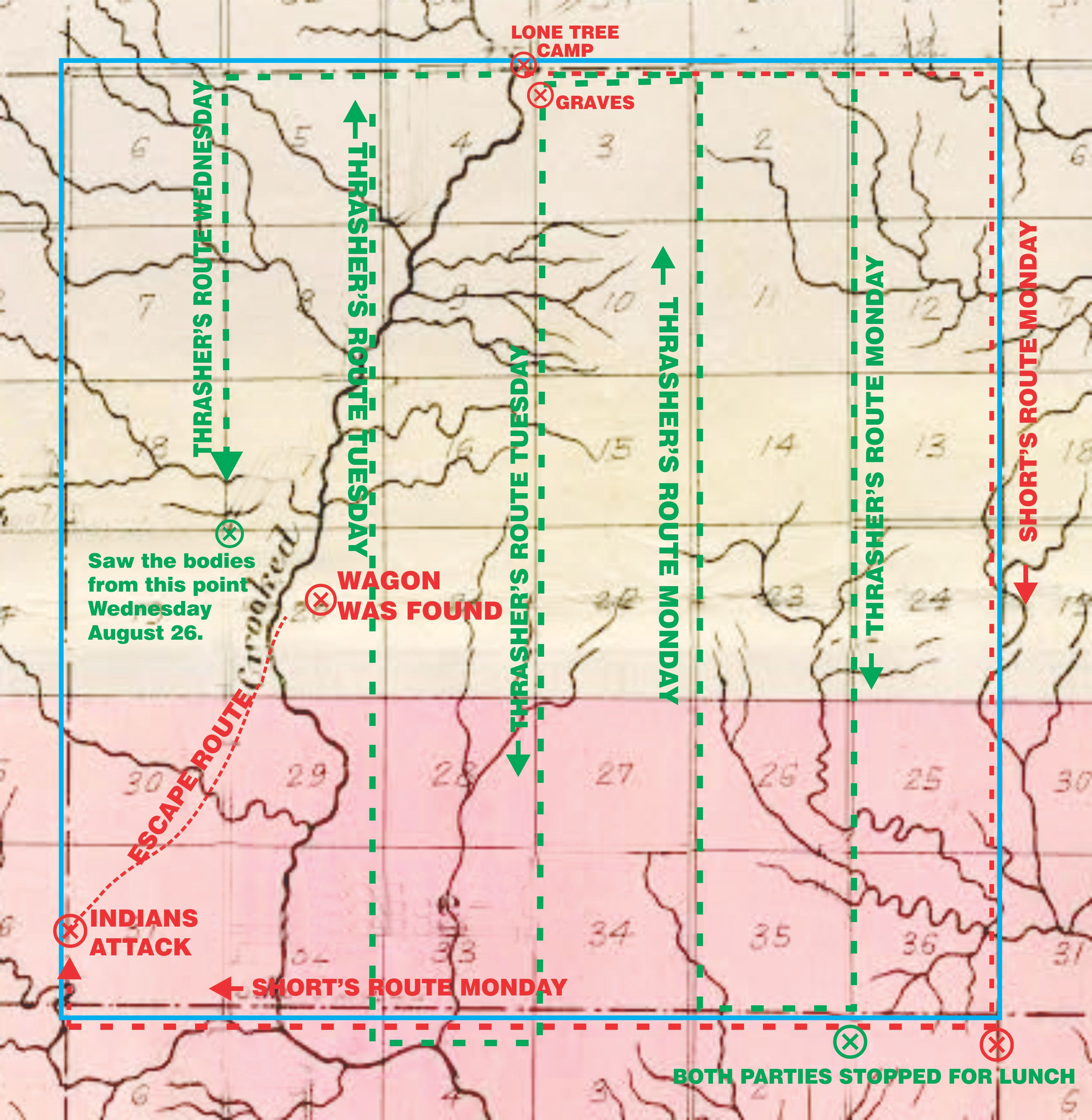 South dakota meade county howes -  South And A Little East Below The Bluffs And What Is Now The Sand Pit You Will Be Looking At The Location Where The Wagon And Captain Short S Slain